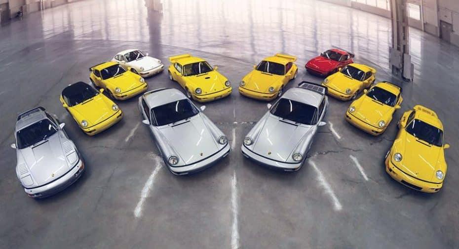 Así es la subasta definitiva que incluye todos los Porsche 911 (964) ¡Hazte con todos!