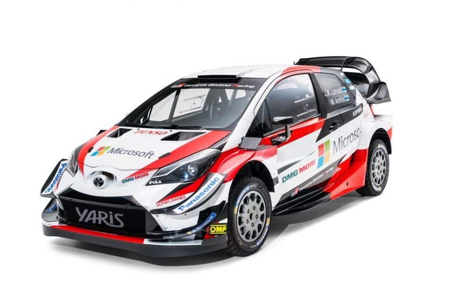 El Toyota Yaris WRC se renueva de cara a 2018: Nuevo sistema de refrigeración y más carga aerodinámica