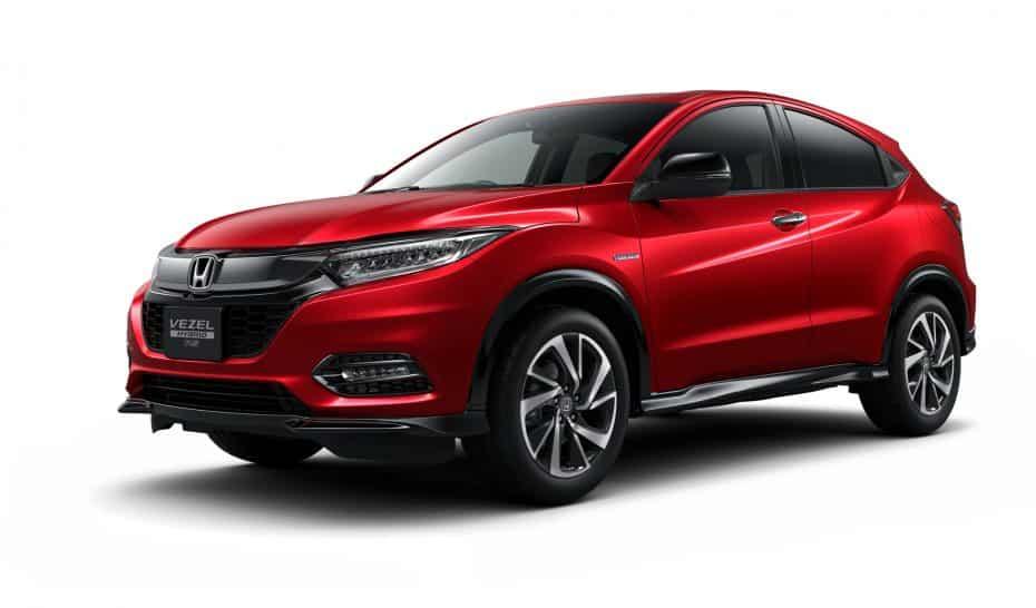 """El Honda Vezel se pone al día en Japón: """"Nuestro HR-V"""""""
