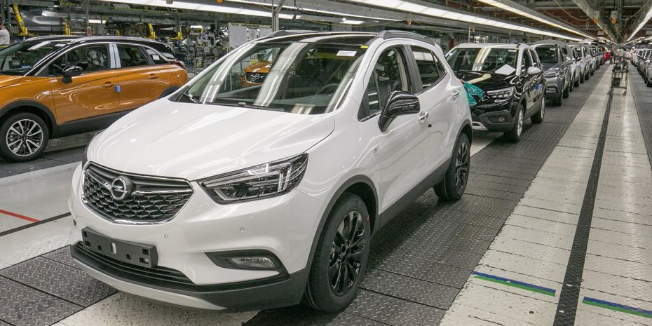 La planta de Opel en Zaragoza logró aumentar la producción en 2017
