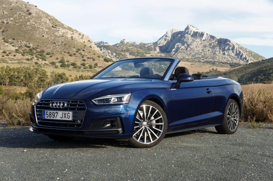 """Prueba Audi A5 Cabrio 2.0 TDI 190 CV S-Line S-Tronic: Al nivel de los mejores, solo """"falla"""" el motor"""
