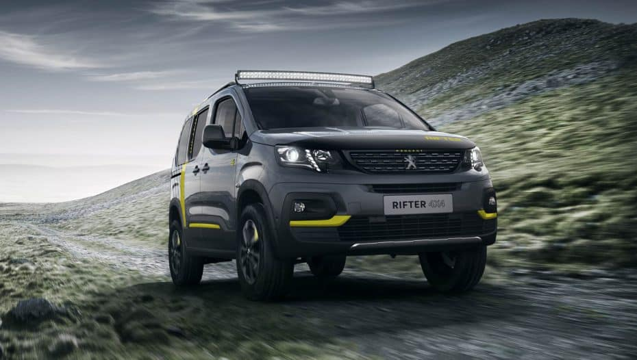 Peugeot Rifter 4×4 Concept: Mezclando conceptos