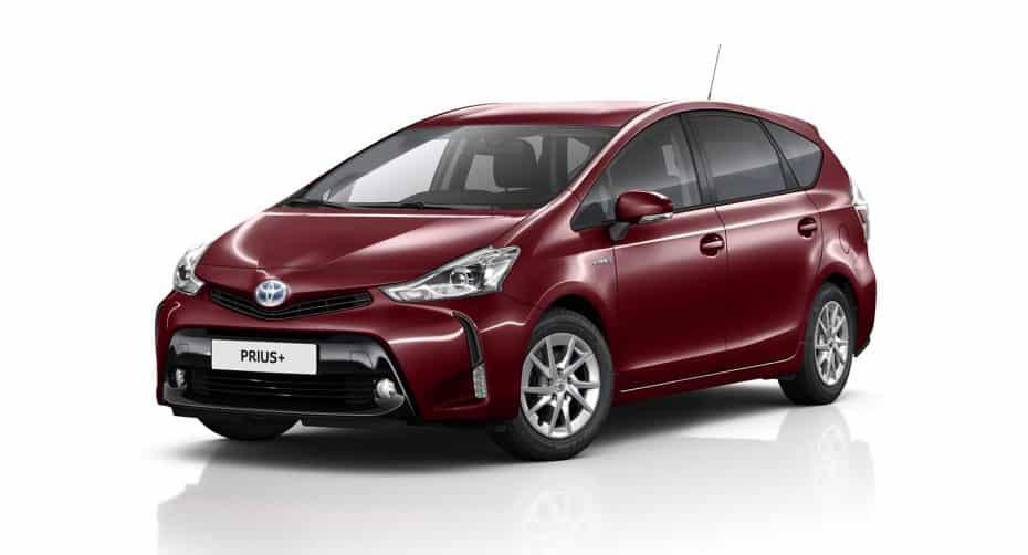 Nueva gama Toyota Prius+ 2018: Más equipada