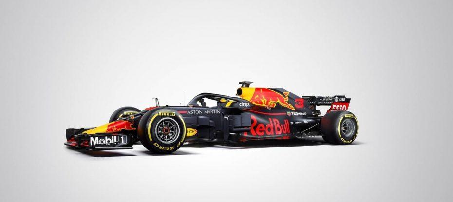 Red Bull Racing desvela su nueva máquina para la nueva temporada de Fórmula 1, el 'RB14'