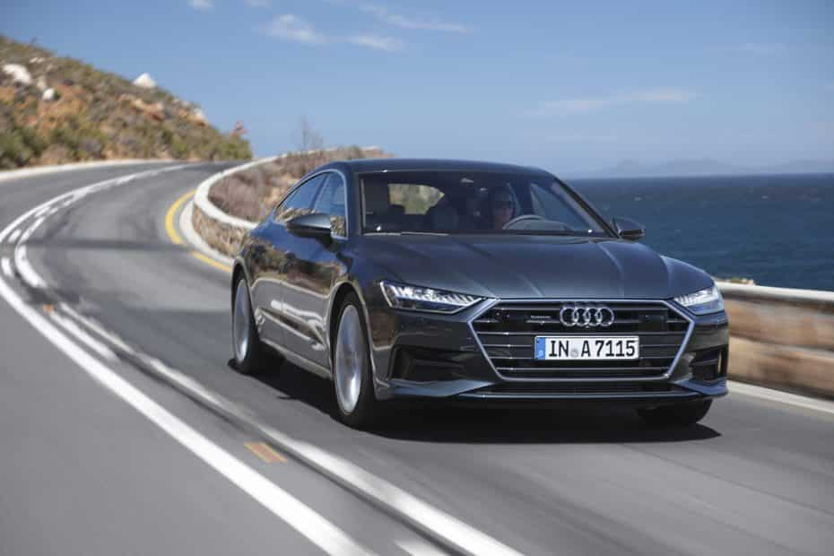El nuevo Audi A7 Sportback 2018 luce palmito en esta extensa galería de imágenes