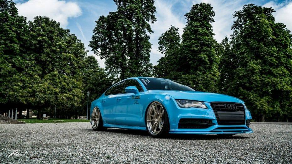 Este Audi A7 con llantas de Z-Performance está listo para acaparar todas las miradas