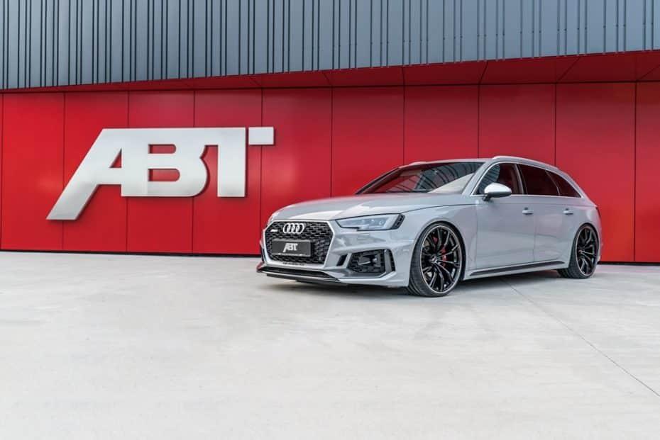 ¡Sublime! ABT vuelve a romper la barrera de los 500 CV y 650 Nm de par con su nuevo Audi RS4 Avant
