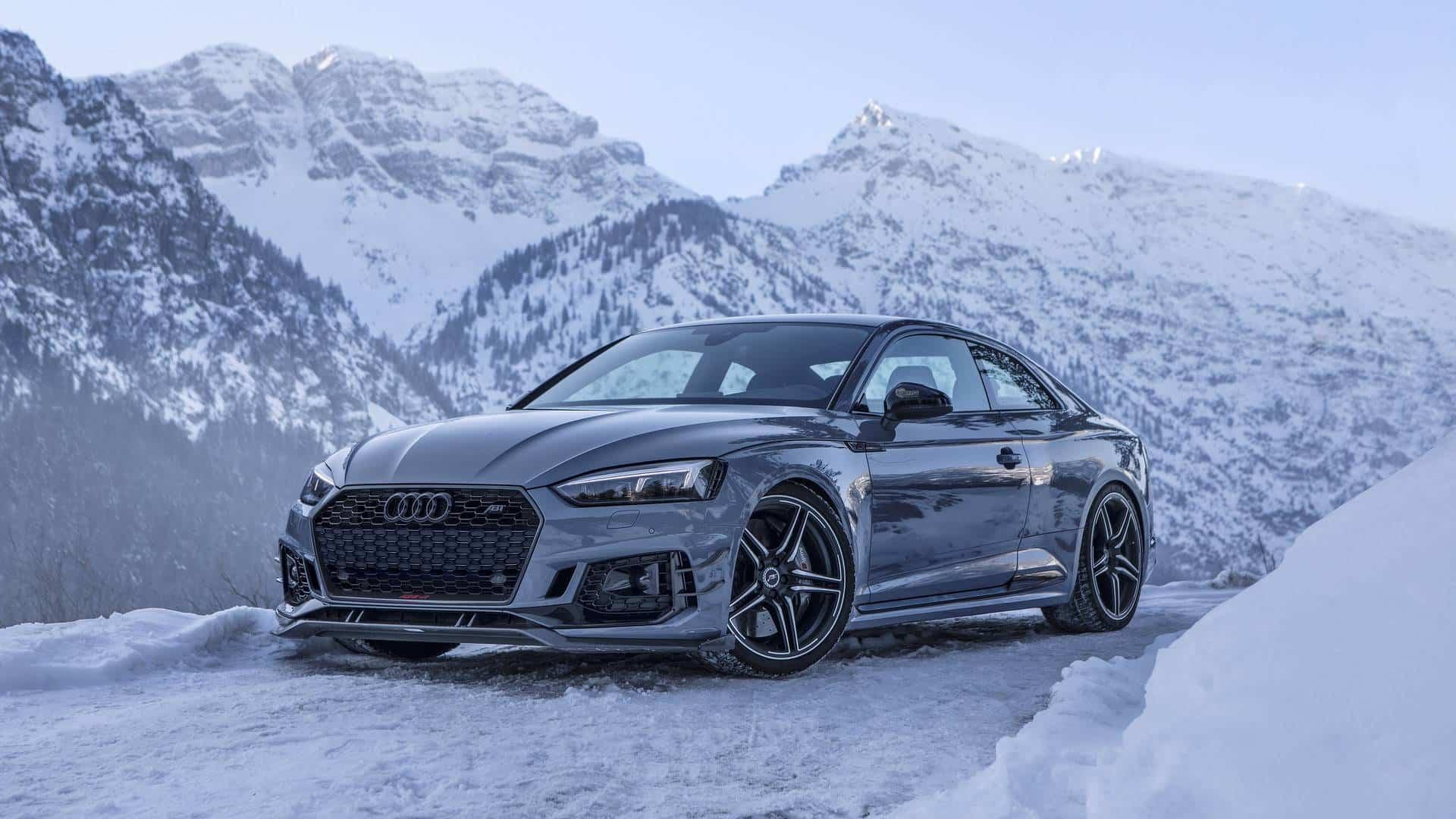 El Brutal Audi Rs5 R De Abt Y Sus 530 Cv Nos Deleitan Con Un