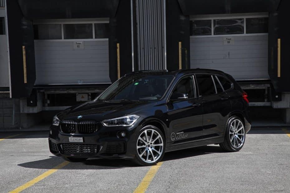 Dahler nos propone un BMW X1 de hasta 270 CV: Estética discreta y mejoras mecánicas para toda la gama