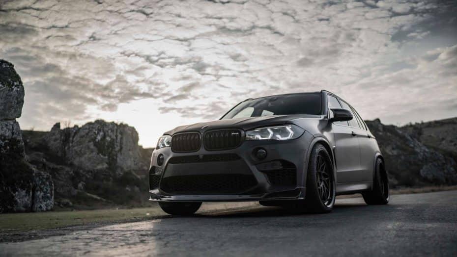 Querido Darth Vader, hemos encontrado tu coche: Ojo al salvaje BMW X5 M con 750 CV de Z-Performance