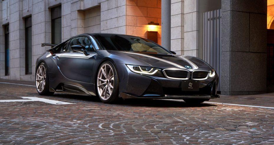 ¿El BMW i8 más radical? El preparador japonés 3D Design sabe ponernos los dientes largos