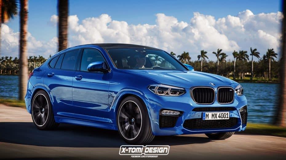 X-Tomi Design nos hace soñar con el aspecto que tendría un BMW X4 M ¡Y no luce nada mal!