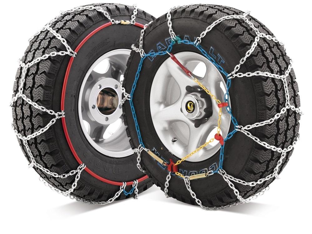 Las cadenas de nieve son tan importantes como tener unos neumáticos en buen estado