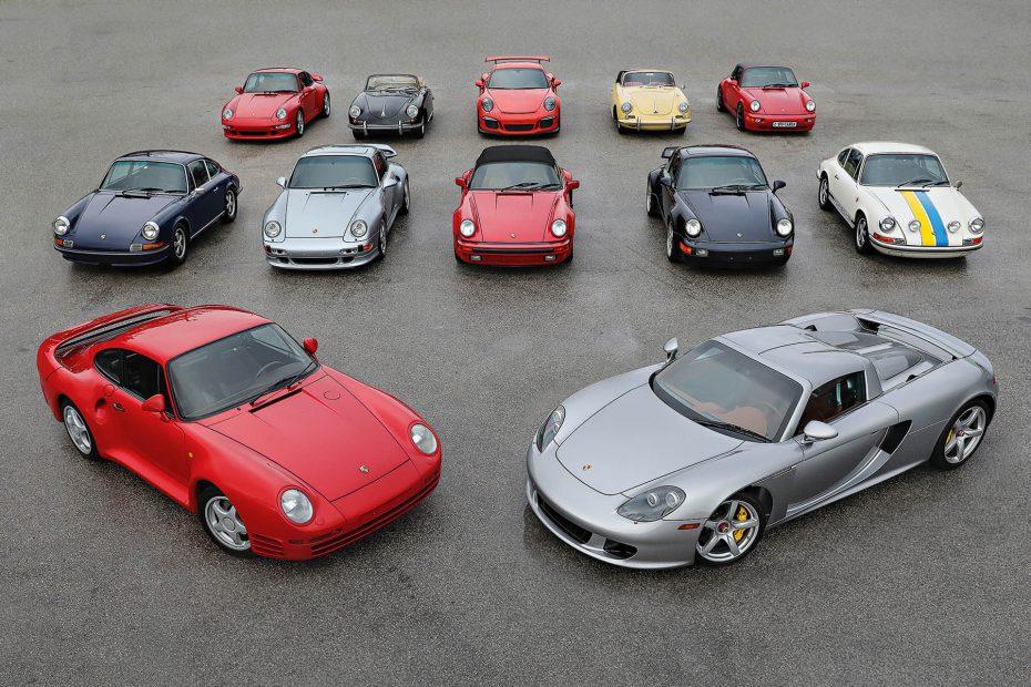 La colección definitiva de Porsche sale a subasta: Desde un Carrera GT hasta un GT3 RS