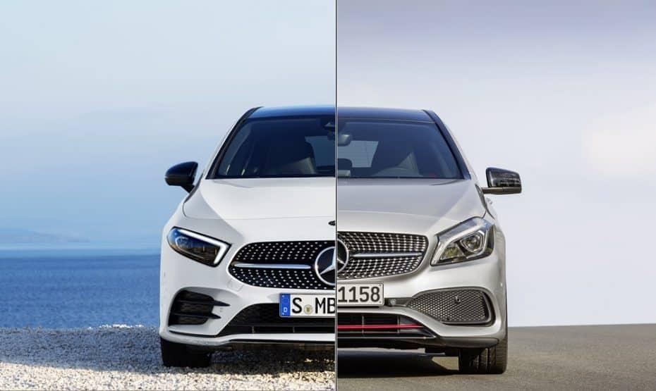 Comparación visual: Juzga tú mismo cuánto ha cambiado el nuevo Mercedes-Benz Clase A