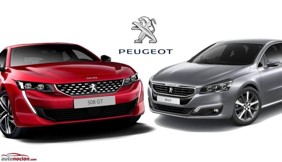 Comparación visual: Juzga tú mismo cuánto ha cambiado el nuevo Peugeot 508