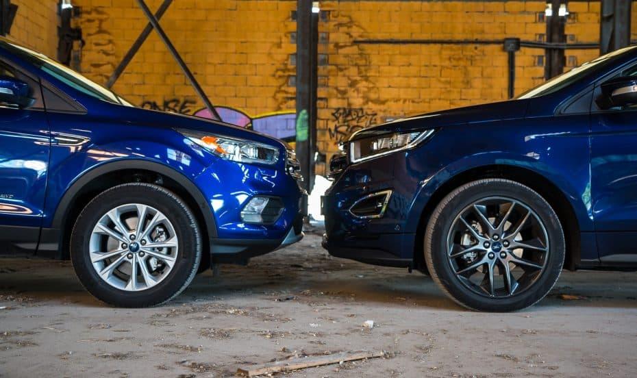 Comparativa Ford Kuga 180 CV vs. Ford Edge 210 CV: ¿Compra racional o compra pasional?