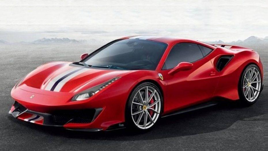 ¡Filtrado! Así es el Ferrari 488 Pista, el Cavallino con el V8 más potente de toda la historia de Ferrari