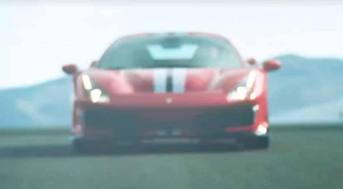 El Ferrari 488 «Speciale» se deja ver rugiendo en el circuito: Sí, estará en Ginebra