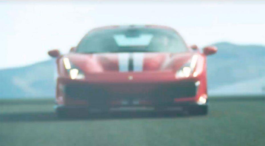 """El Ferrari 488 """"Speciale"""" se deja ver rugiendo en el circuito: Sí, estará en Ginebra"""
