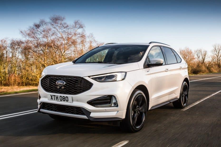 Así es el Ford Edge 2018 europeo: Estrena motor de 238 CV, pero por ahora no veremos el ST de 340 CV