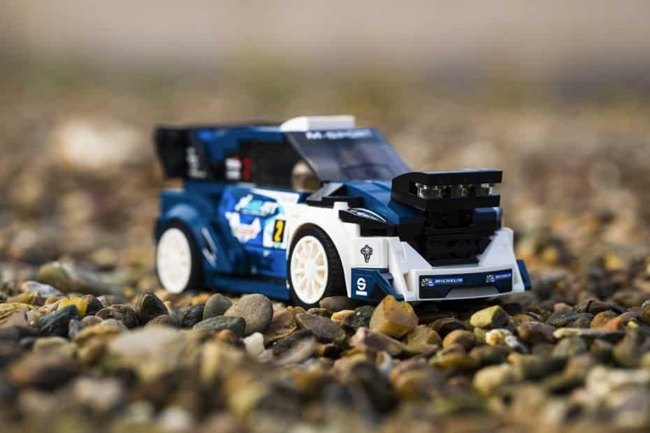 Amante de los rallies, ahora el Ford Fiesta M-Sport WRC también puede ser tuyo gracias a LEGO