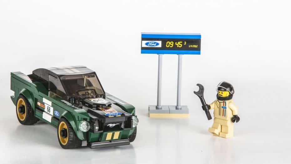 ¿Eres de juguetes y clásicos? LEGO también nos trae el Ford Mustang Fastback de 1968