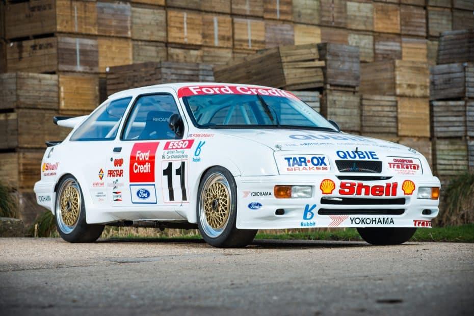 Una auténtica pieza de coleccionista: Este Sierra Cosworth RS500 puede ser tuyo por 250.000 euros