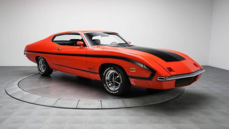 A la venta un rarísimo Ford Torino King Cobra de 1970, pero te costará más que un Ford GT