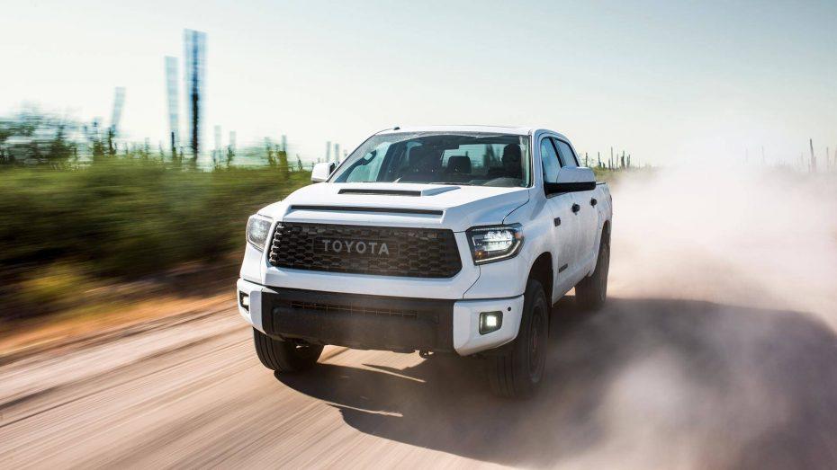Toyota nos presenta su línea más extrema y radical de los pick-up 'TRD Pro 2019'
