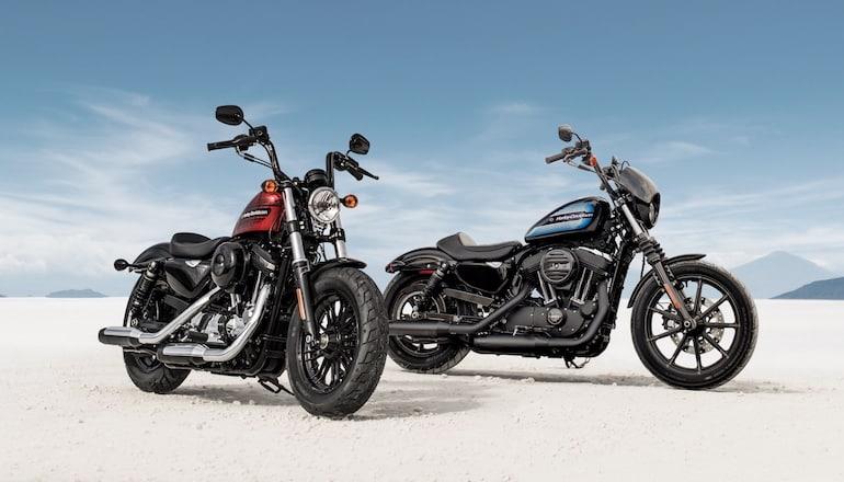 Harley-Davidson presenta las nuevas Sportster Iron 1200 y Forty-Eight Special