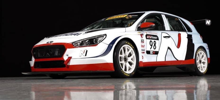 Así es el Hyundai i30 N TCR que competirá en el Pirelli World Challenge