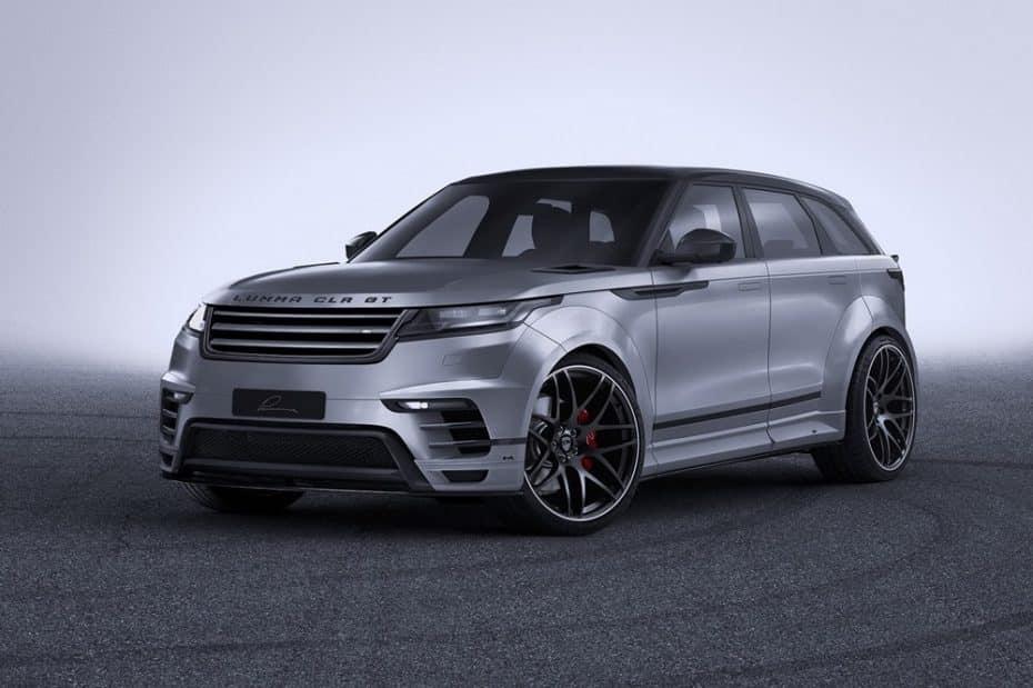 Lumma Design ya tiene listo su CLR GT sobre la base del Range Rover Velar ¡Y es sencillamente brutal!