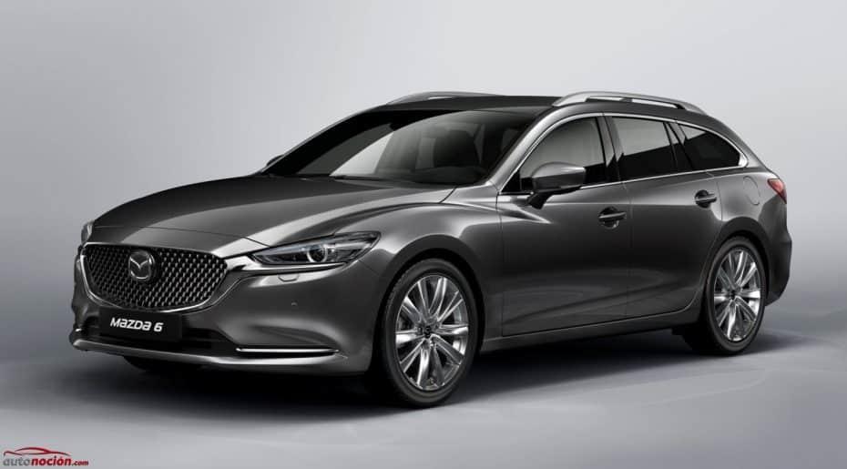 ¡Oficial! El Mazda6 Wagon 2018 hará su debut en Ginebra: Estas son sus principales novedades