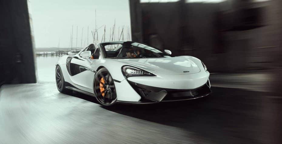 Novitec nos propone un McLaren 570S Spider con 654 CV y más fibra de carbono