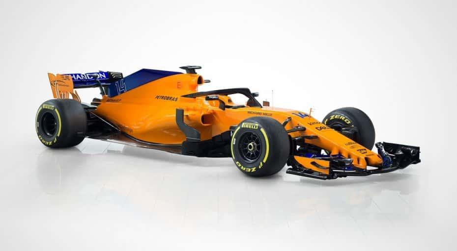Así es el nuevo McLaren MCL33 que pilotará Fernando Alonso la próxima temporada