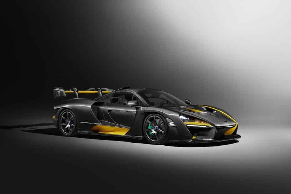 McLaren Senna Carbon Theme: La bestia que verás en Ginebra lucirá fibra de carbono a raudales