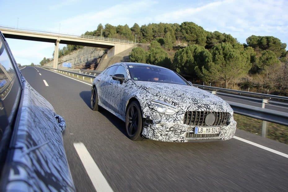 Mercedes-AMG ya tiene casi listo su GT de cuatro puertas: ¿Plantará cara al Panamera en Ginebra?