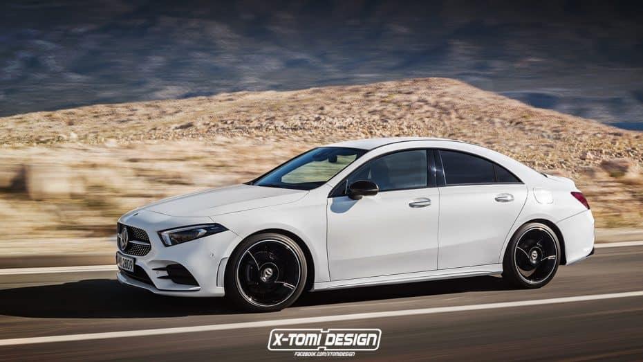 El Mercedes-Benz CLA está a la vuelta de la esquina: ¿Será este su aspecto definitivo?