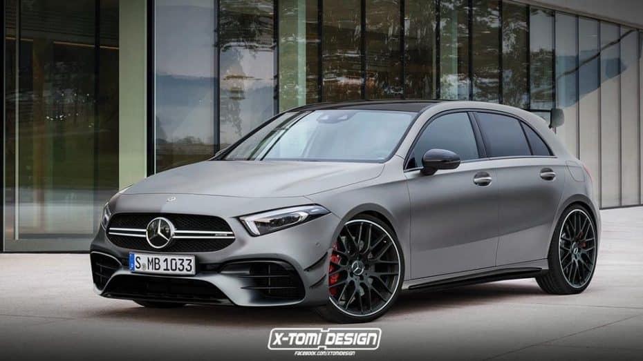 Las 3 caras del nuevo Mercedes-Benz Clase A que no conocías: Desearás ver hechos realidad estos render…