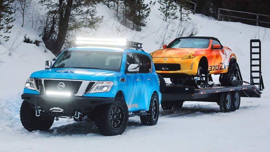 Nissan 370Zki y NissanArmada Snow Patrol: Con estos 'cacharros', que corten la AP-6 cuando quieran…