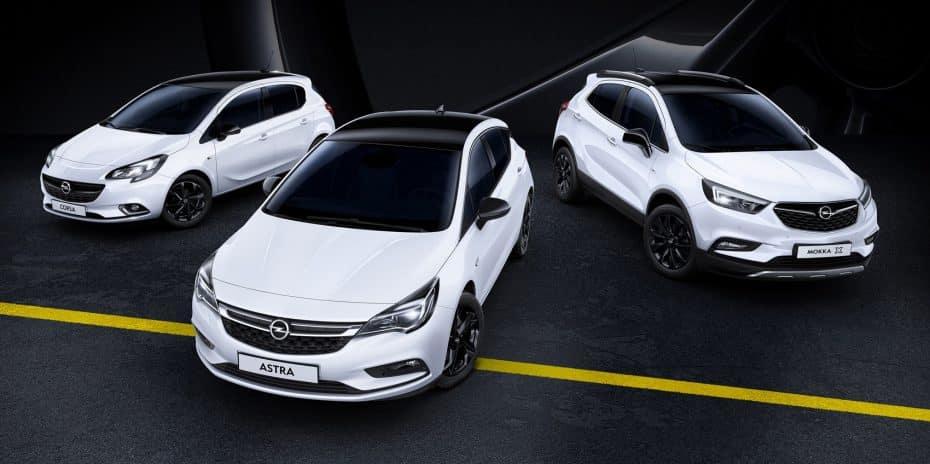 """Nueva edición especial """"Black Edition"""" para casi toda la gama Opel: Desde el Adam hasta el Zafira"""
