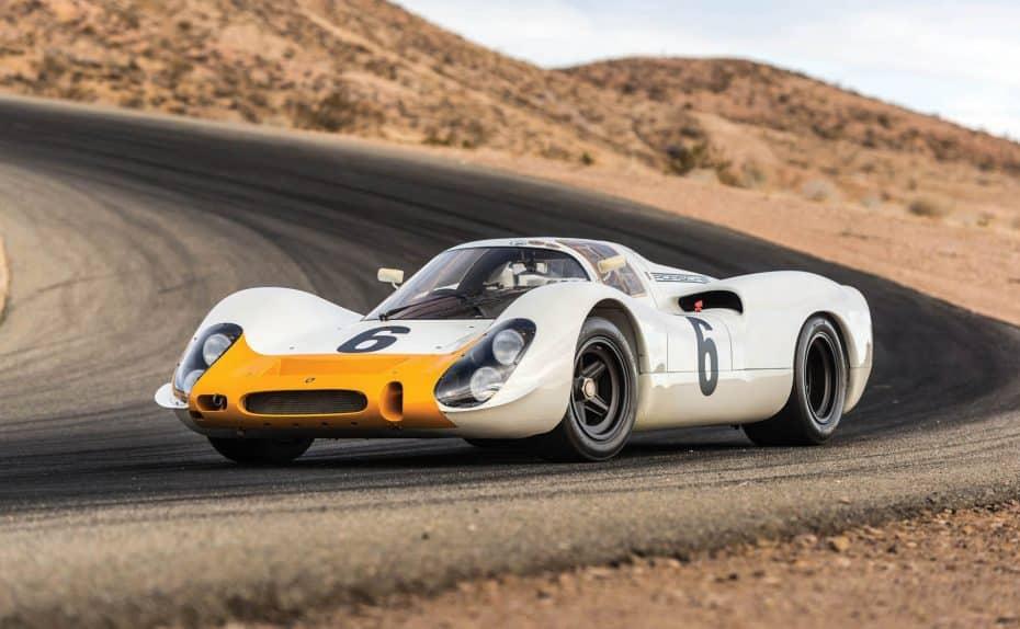 Este Porsche 908 de 1968 puede estar en tu garaje, un «juguete» de dos millones de euros…