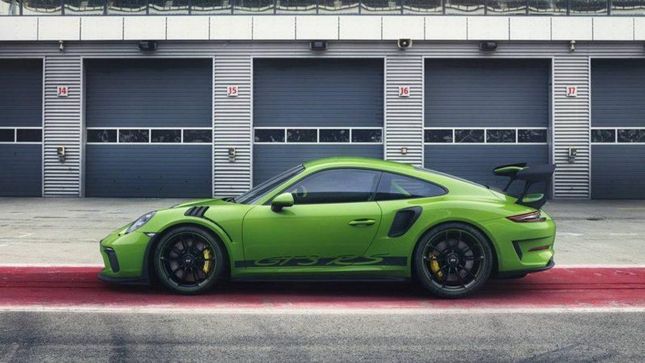 ¡Filtrado! Así es el Porsche 911 GT3 RS 2018: Más potente, aerodinámico y preciso que nunca