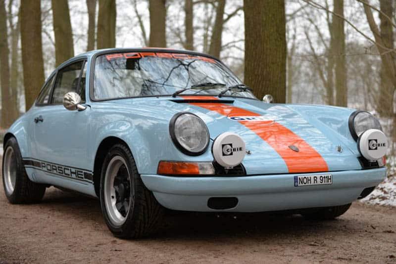 Este Porsche 911 T de 1970 ha sido restaurado para lucir un toque muy rally ¡Y es toda una ganga!