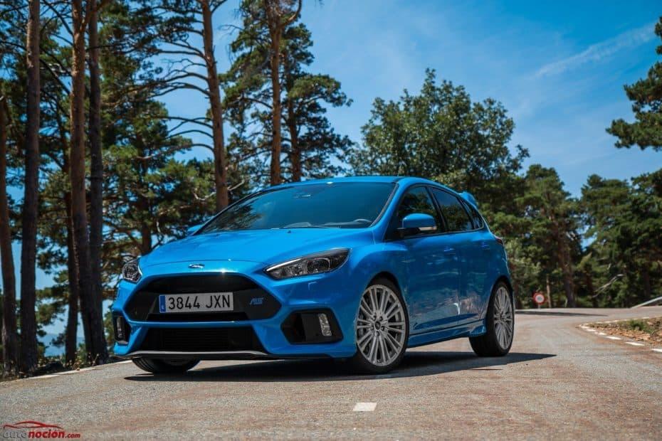 Prueba Ford Focus RS 350 CV: Tu príncipe azul es una auténtica fiera en la carretera