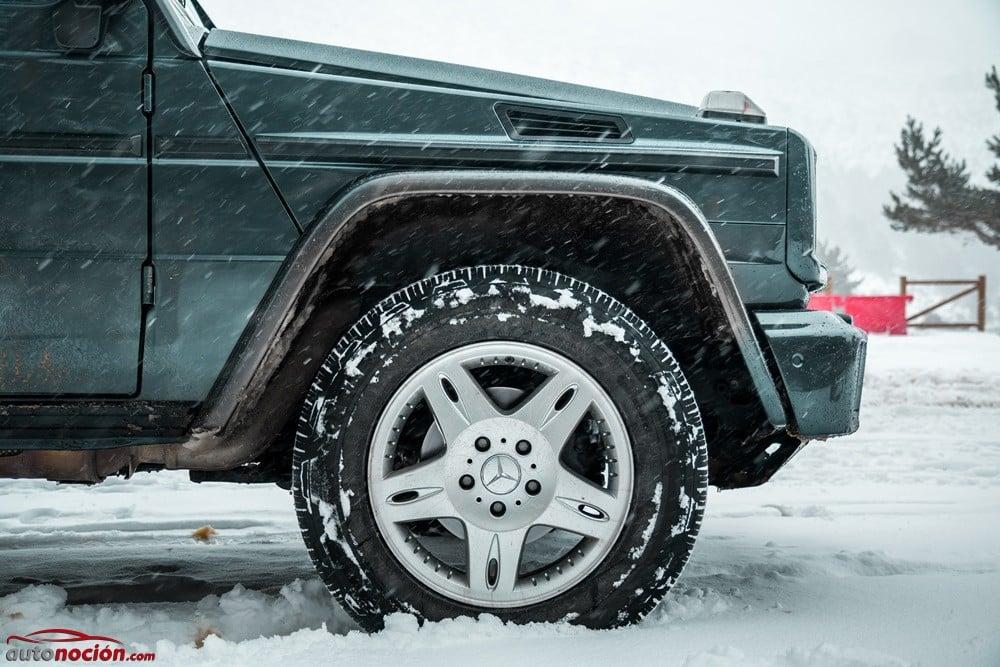 Existen varios tipos de cadenas de nieve, pero también neumáticos especiales para invierno