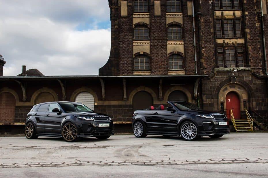 Arden AR 11: El Range Rover Evoque ahora más radical y potente gracias a Arden