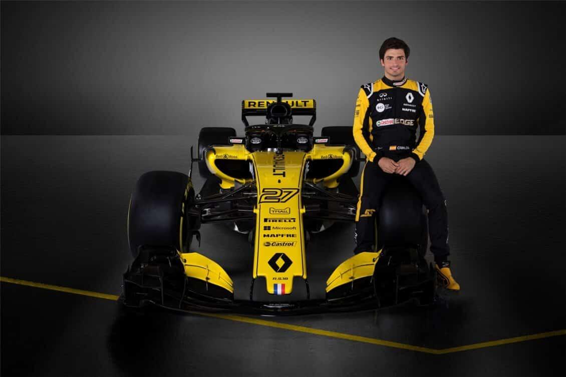 Renault R.S.18: El monoplaza de Carlos Sainz Jr. mejora en todos los aspectos