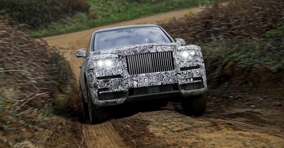 El Rolls-Royce Cullinan será simplemente perfecto: ¿SUV o todoterreno?